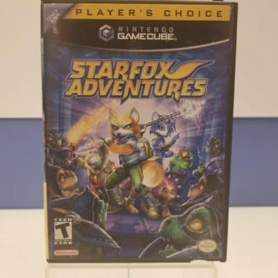 Star Fox Adventures Front