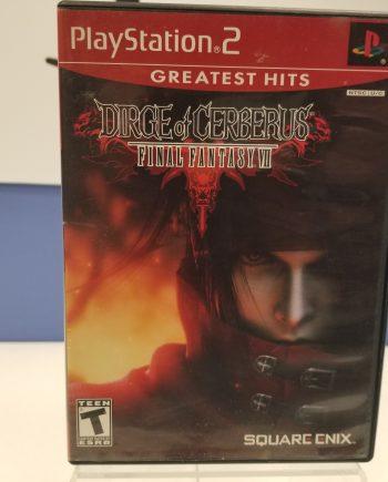Final Fantasy VII - Dirge of Cerberus Front