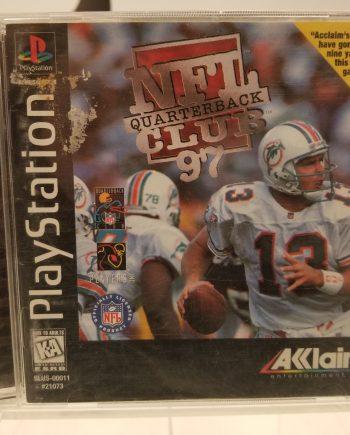 NFL Quarterback Club 97 Front