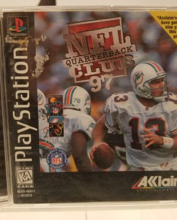 NFL Quarterback Club 97 Front