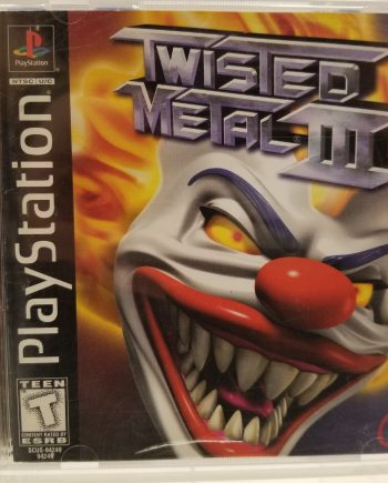 Twisted Metal 3 Front
