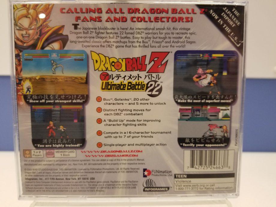 Dragon Ball Z - Ultimate Battle 22 Back
