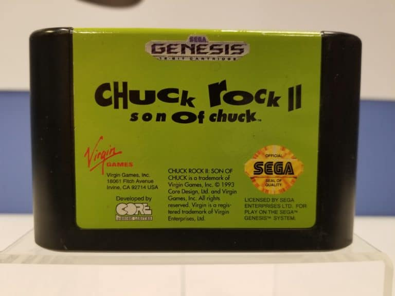 Chuck Rock II - Son of Chuck Front