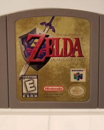 The Legend of Zelda - Ocarina of Time Front