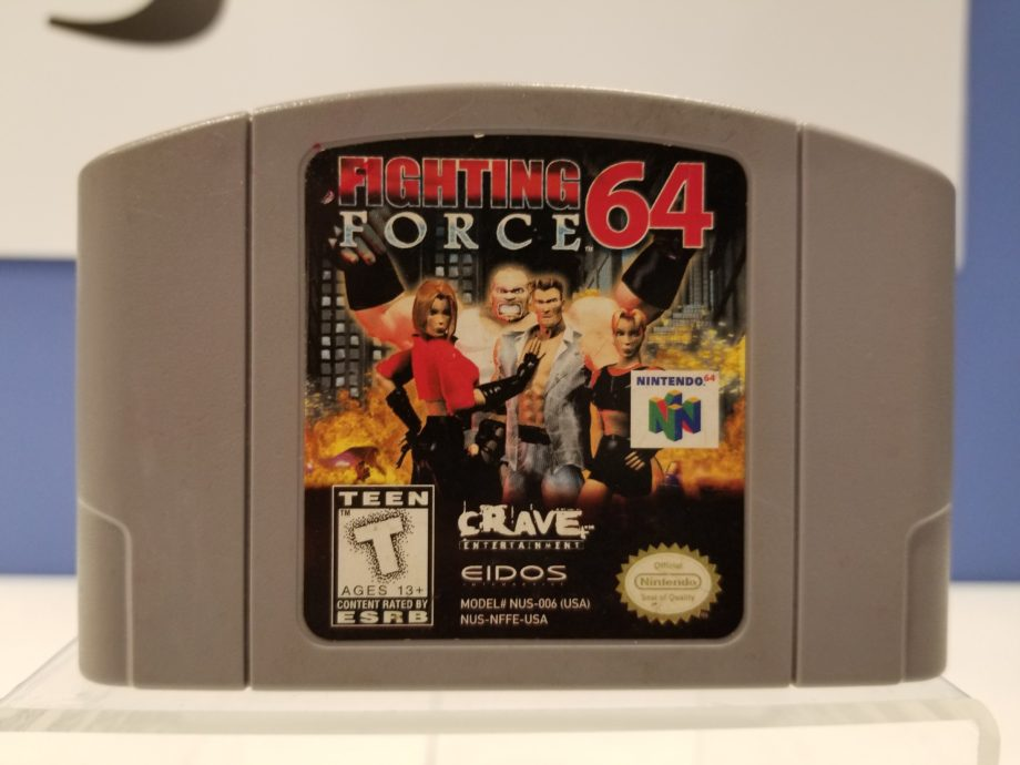 Fighting Force 64 Front