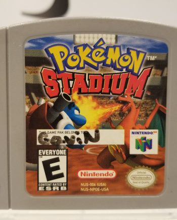 Pokemon Stadium Front