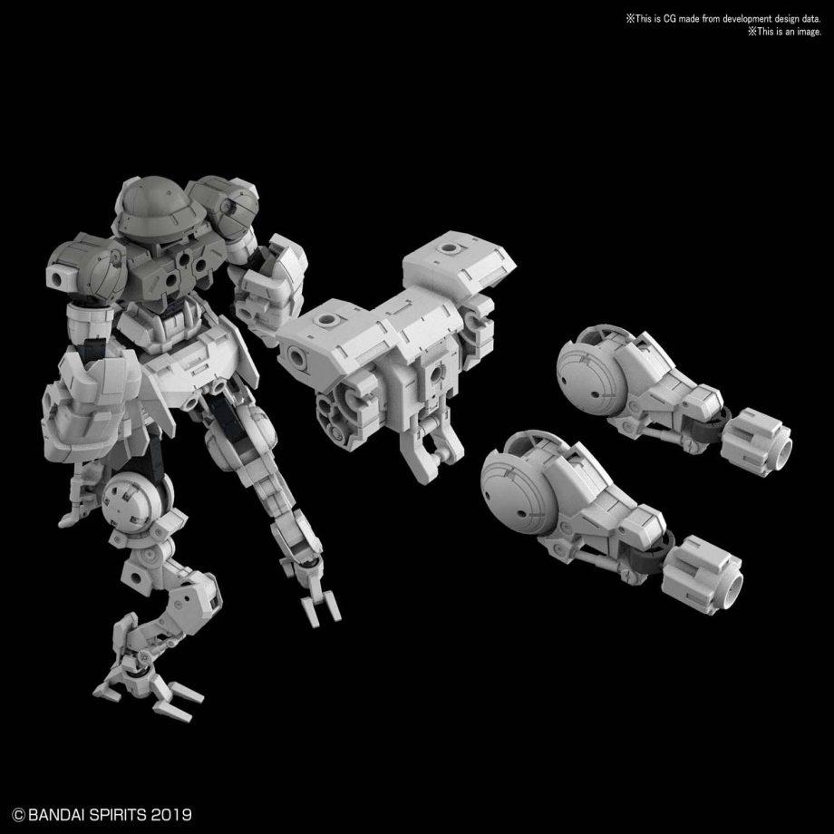 Portanova Space Type Gray Pose 3