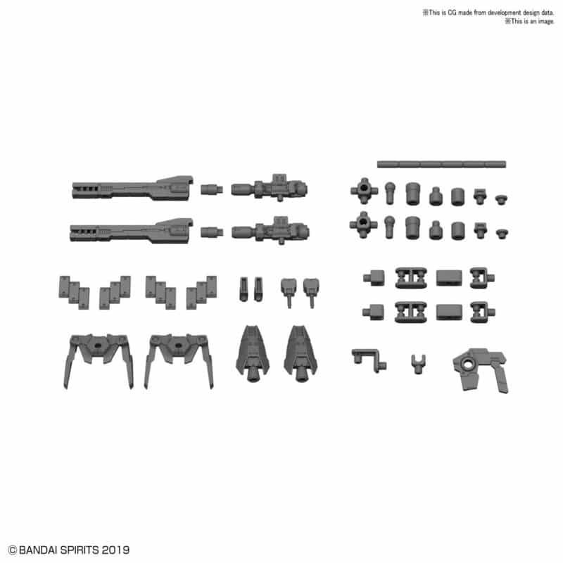 1/144 Option Parts Set 1 Pose 1