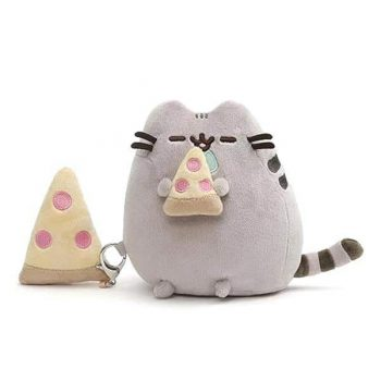 Pusheen With Pizza Plush