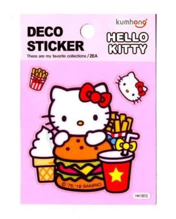 Hello Kitty Decoration Sticker Sheet