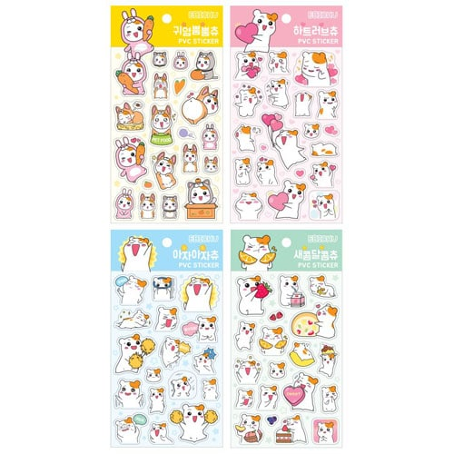 Ebichu PVC Stickers