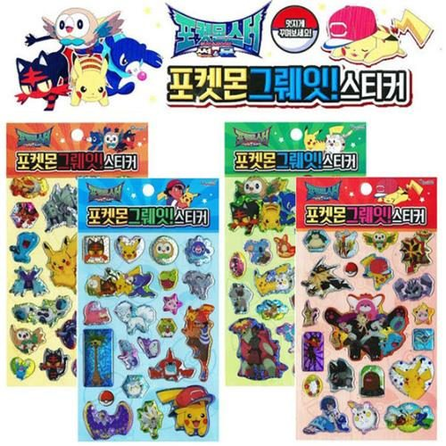 Pokemon Great! Stickers Set