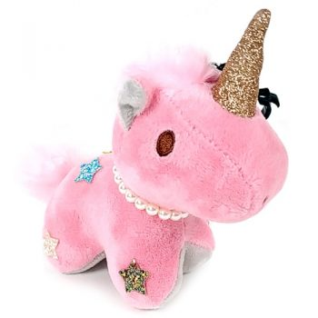 Unicorn Keychain Plush - Pink