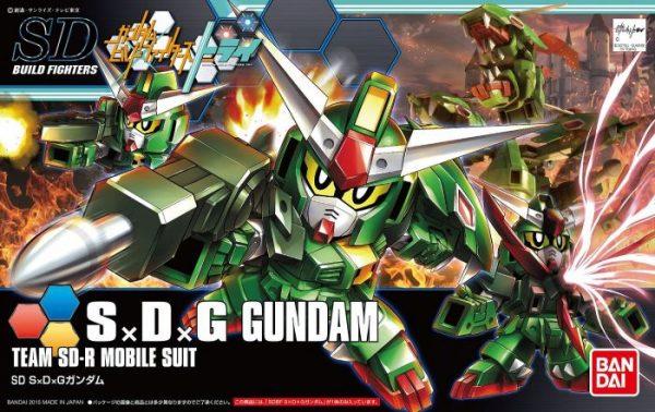 1/144 High Grade S x D x G Gundam Box