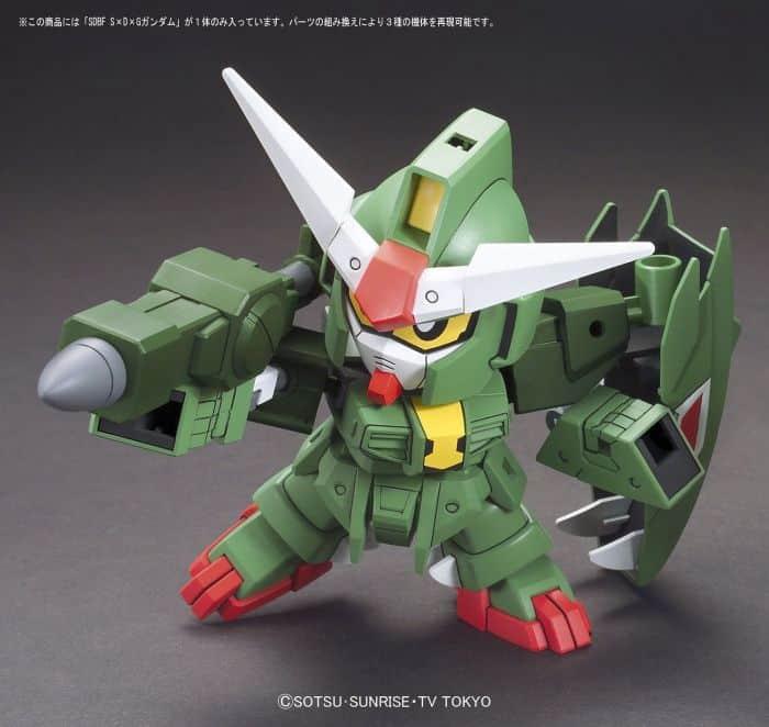 1/144 High Grade S x D x G Gundam Pose 3