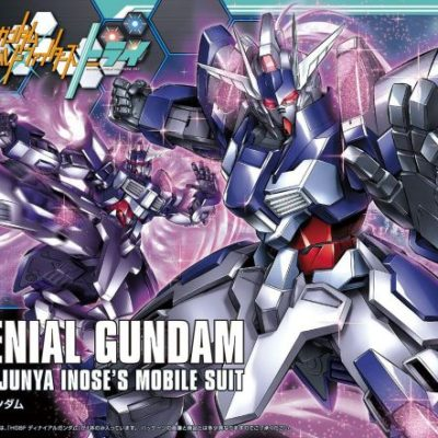 High Grade Denail Gundam Box