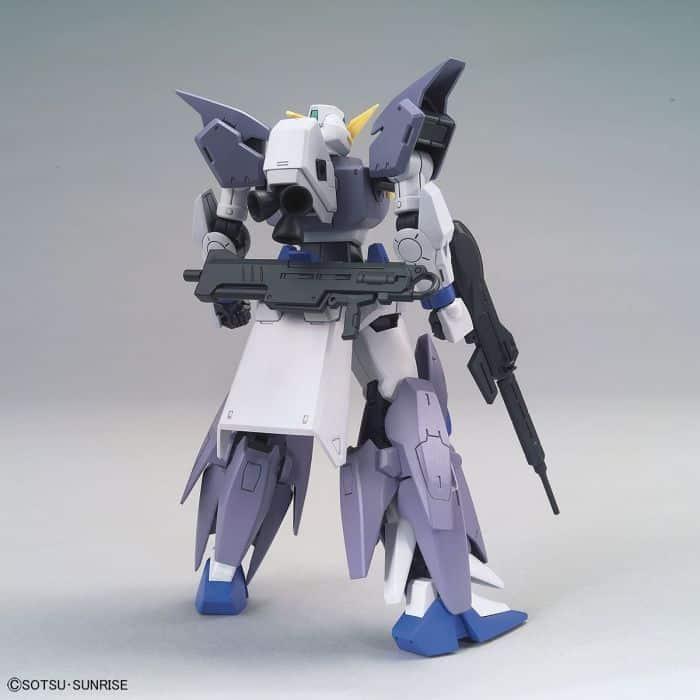 High Grade Gundam Tertium Pose 2