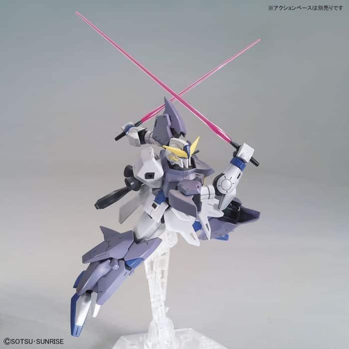 High Grade Gundam Tertium Pose 5
