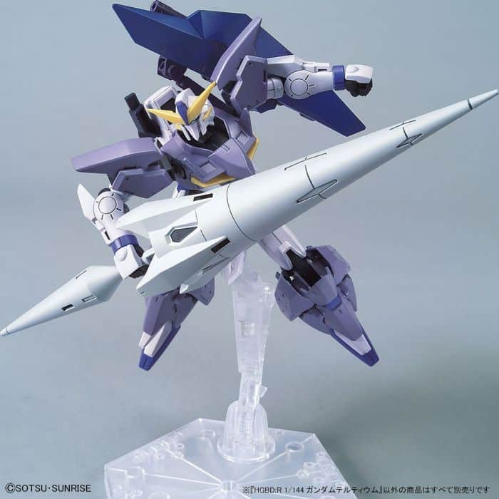 High Grade Gundam Tertium Pose 6