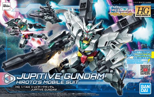 High Grade Jupitive Gundam Box