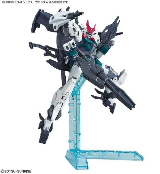 High Grade Jupitive Gundam Pose 9