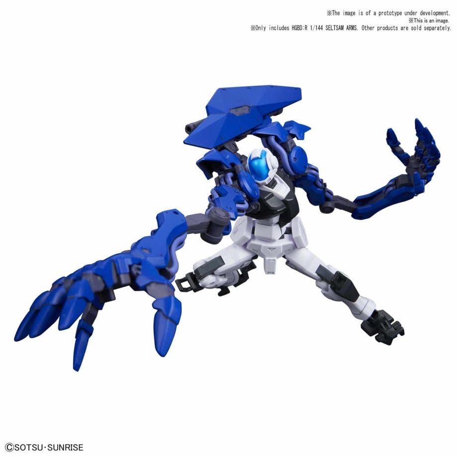 High Grade Seltsam Arms Pose 3