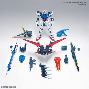 Perfect Grade Perfect Strike Gundam Pose 5