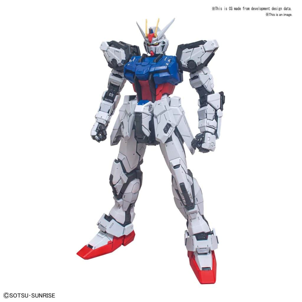 Perfect Grade Perfect Strike Gundam Pose 6