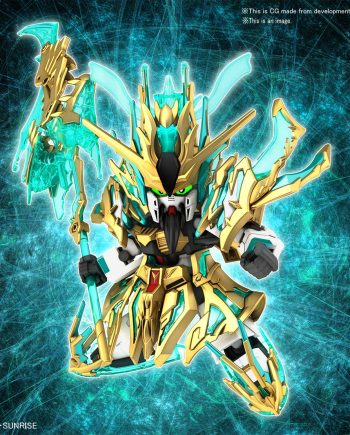 Wu Sheng Guan Yu Yun Chang Nu Gundam Pose 1