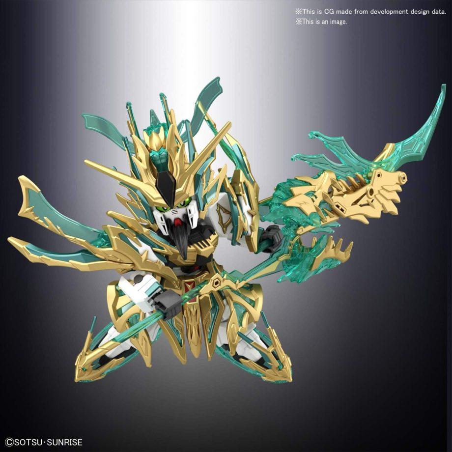 Wu Sheng Guan Yu Yun Chang Nu Gundam Pose 3