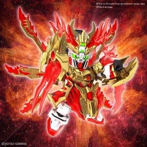Yan Huang Zhang Fei God Gundam Pose 1