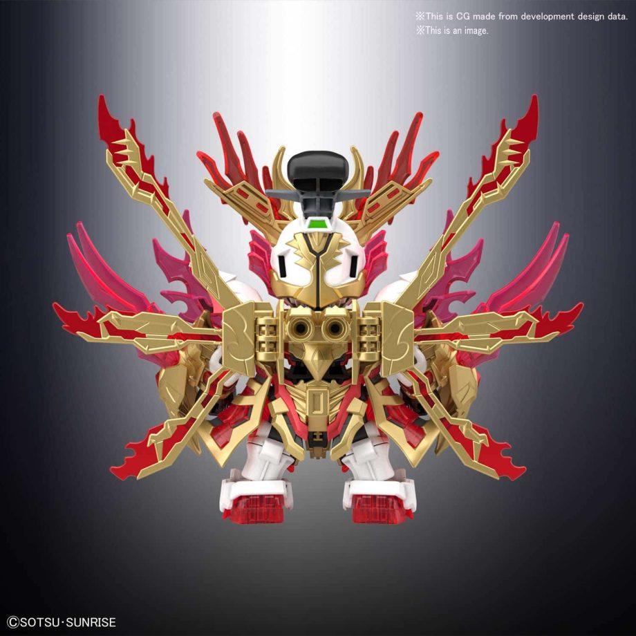 Yan Huang Zhang Fei God Gundam Pose 3