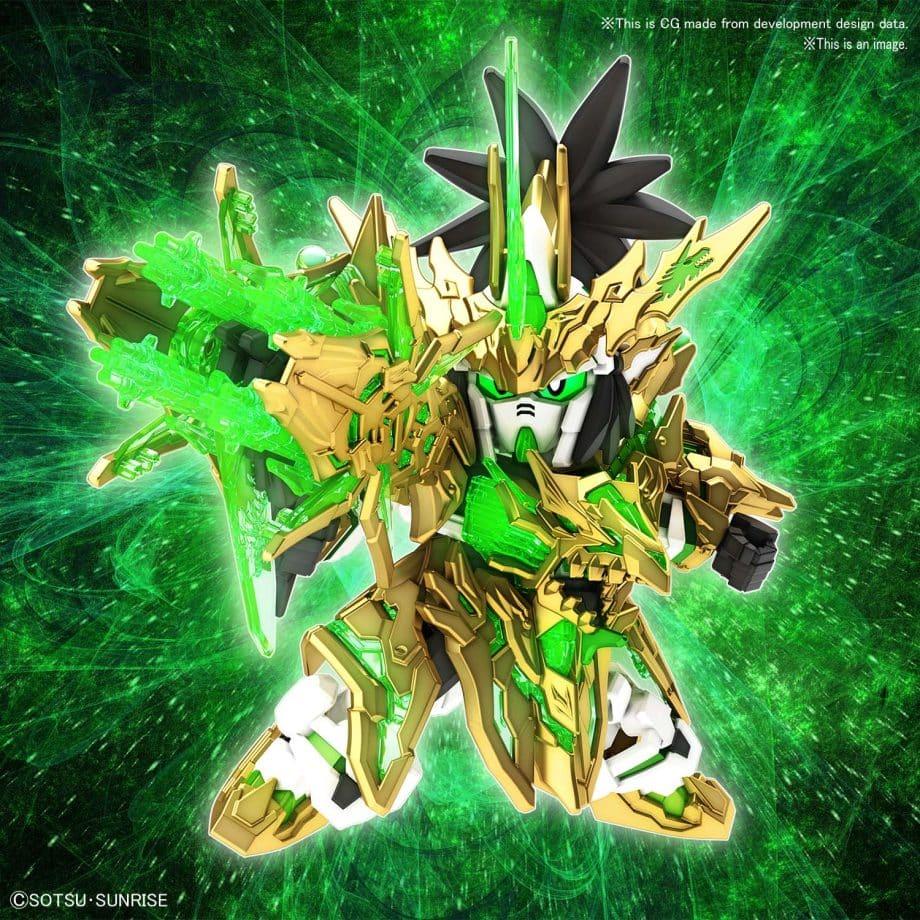 Long Xian Liu Bei Unicorn Gundam Pose 1