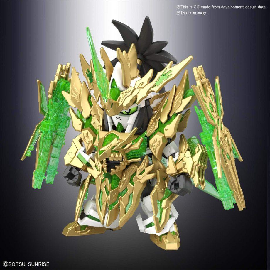 Long Xian Liu Bei Unicorn Gundam Pose 2