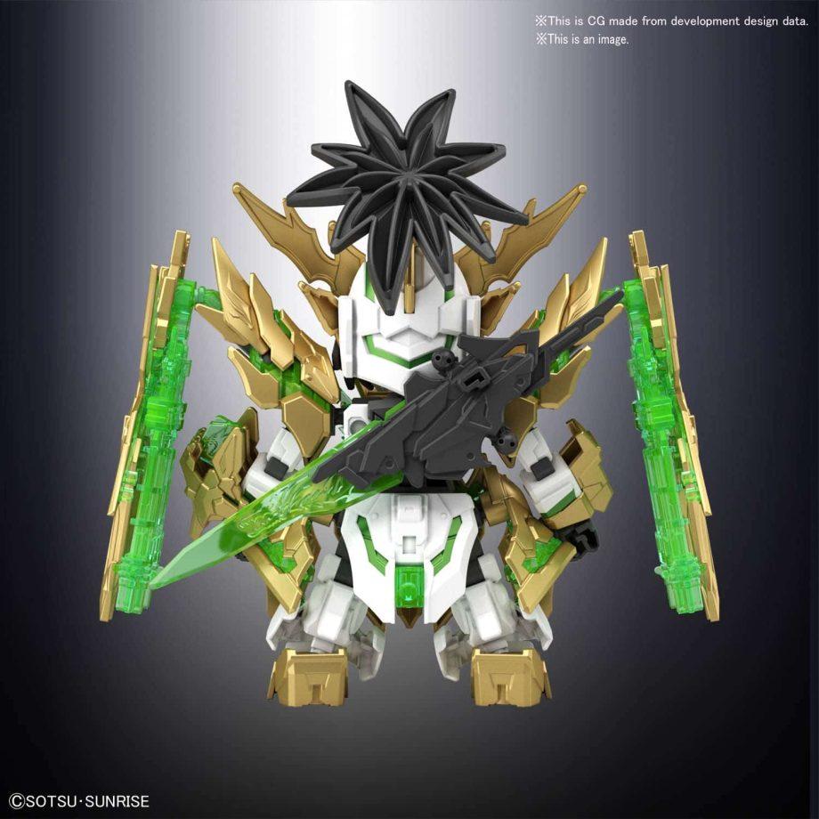 Long Xian Liu Bei Unicorn Gundam Pose 3