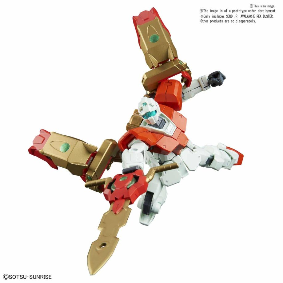 High Grade Avalanche Rex Buster Pose 2