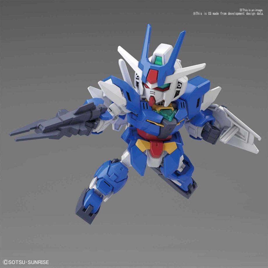 SDCS Earthree Gundam Pose 1