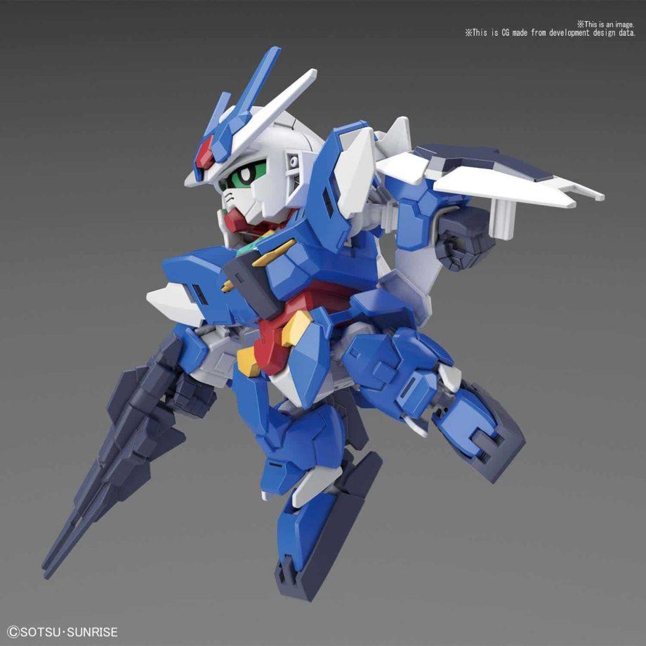 SDCS Earthree Gundam Pose 4