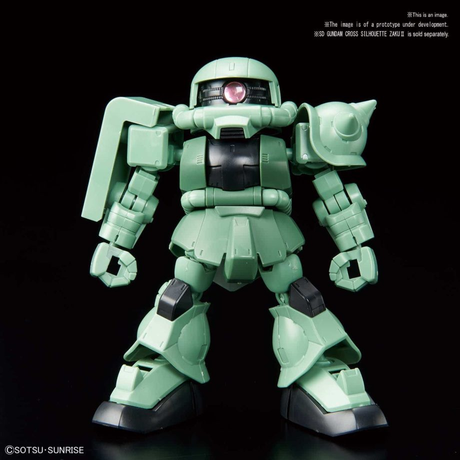 SDCS Cross Silhouette Booster (Green) Pose 2