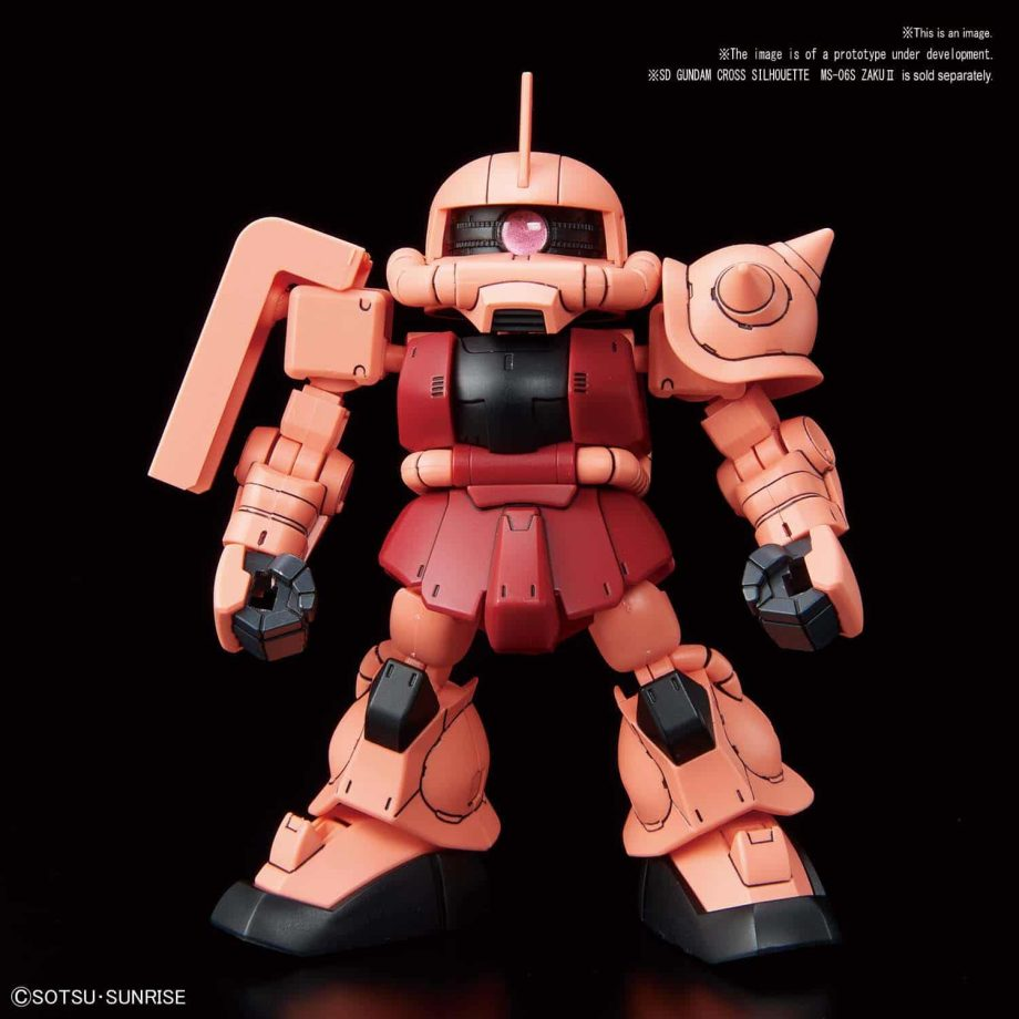 SDCS Cross Silhouette Booster (Red) Pose 2