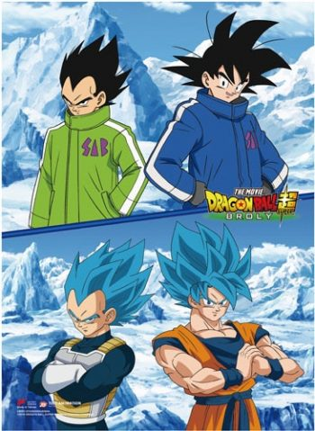 Goku & Vegeta Wall Scroll