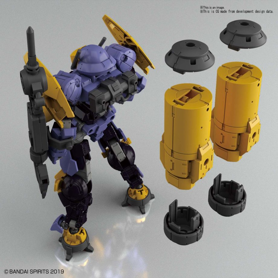 1/144 bEMX-15 Portanova Marine Type Purple Pose 2