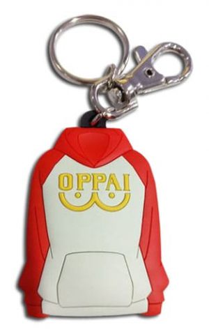 SD Oppai Jacket PVC Keychain