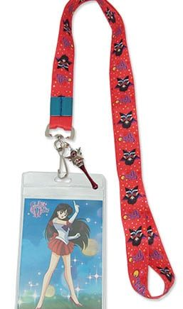 Sailor Mars Lanyard
