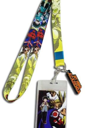 Deku & All Might Lanyard