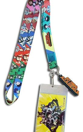My Hero Academia: Group Lanyard