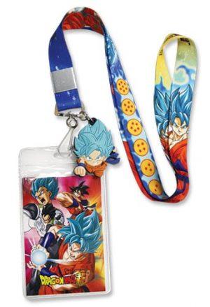 SD Super Saiyan Blue Goku Lanyard