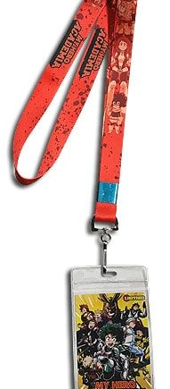My Hero Academia: Red Group Lanyard