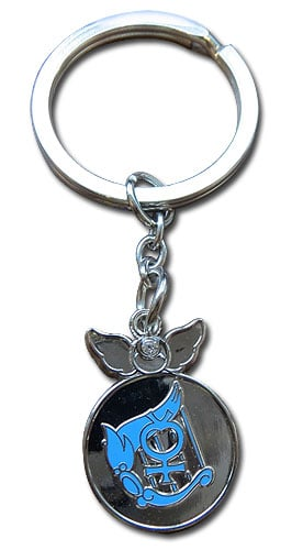 Sailor Mercury Change Rod Metal Keychain