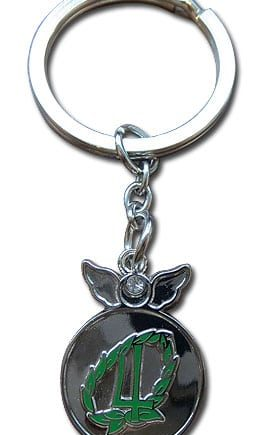 Sailor Jupiter Change Rod Metal Keychain